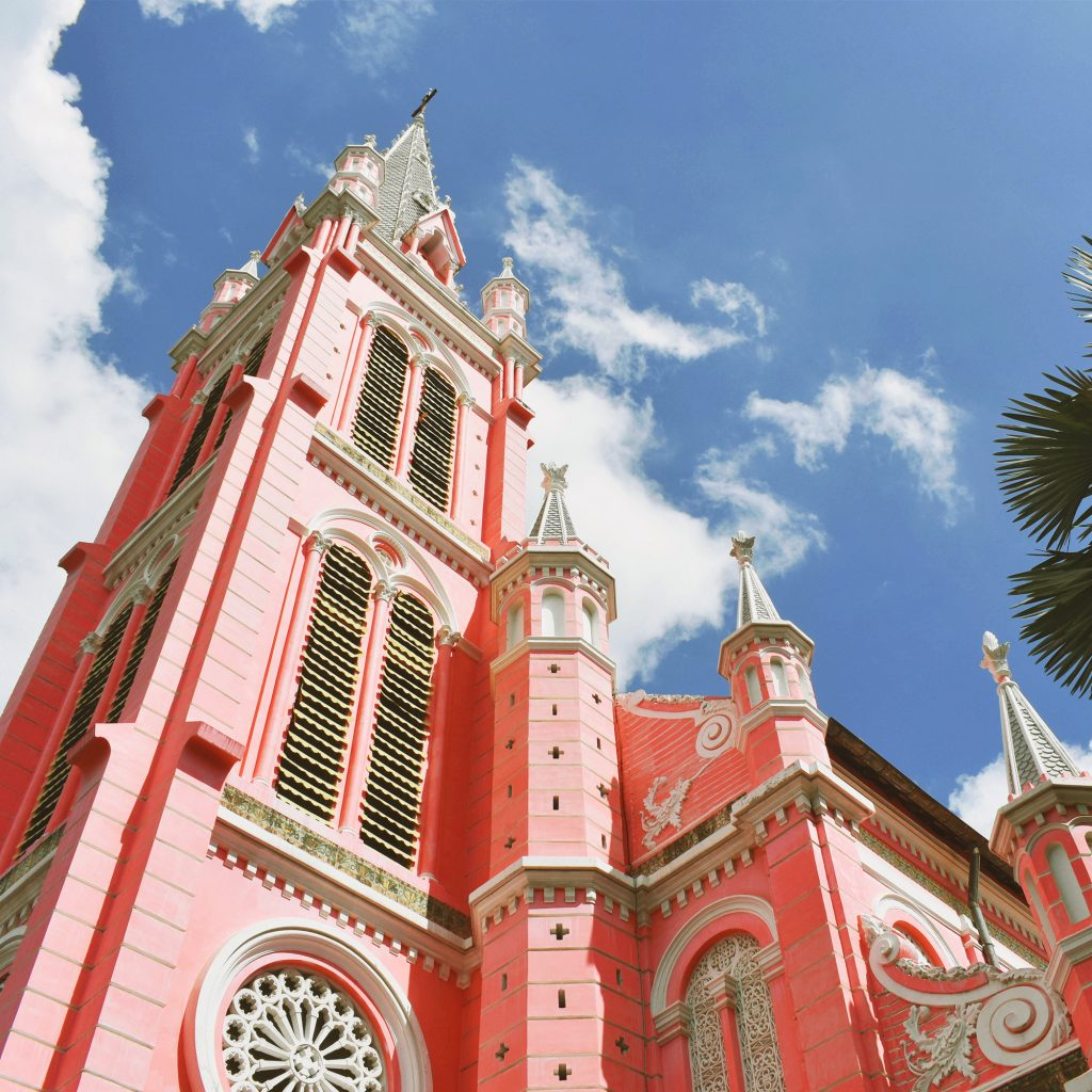 Ho Chi Minh City Landmark: Tan Dinh Church Pink Church
